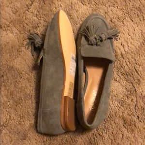 NEW Topshop Suede Loafer, sz 5.5